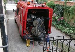 Einsatz ARS24H Spülwagen
